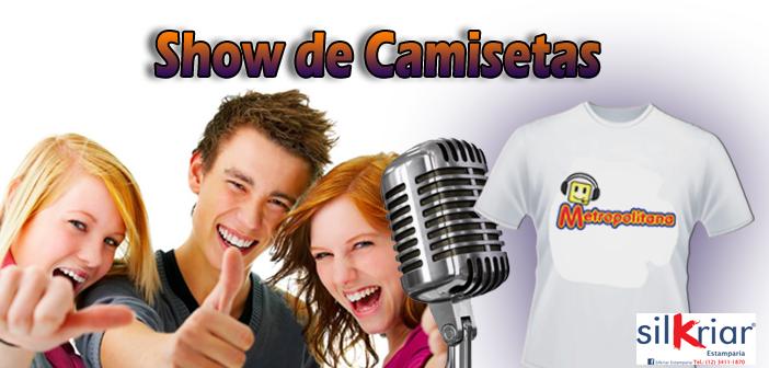 Show  de Camiseta Metropolitana
