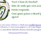 Ganhador Promoção Brazuca