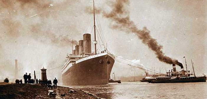 Imagens inéditas mostram Titanic antes de tragédia