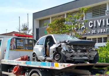 a3ec2bdca56 Mulher morre e duas pessoas ficam feridas em acidente Oswaldo Cruz em  Ubatuba